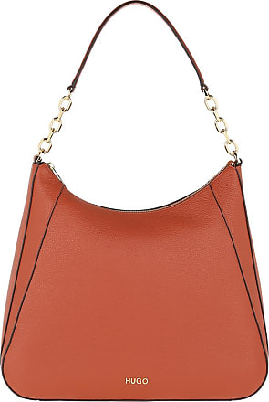 HUGO BOSS Hobo Bags - Victoria Hobo Bag Dark Orange - orange - Hobo Bags for ladies