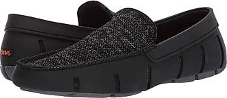 60b79ef3188f Swims Classic Venetian Loafer (Black Gray) Mens Slip on Shoes