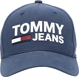 Tommy Jeans BONÉ MASCULINO FLOCK - AZUL