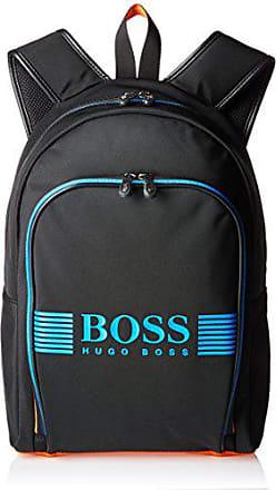 619e90df376 HUGO BOSS BOSS Green Mens Pixel Nylon Backpack, Black, ONE Size