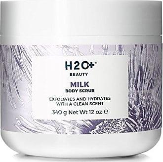H2O+ Beauty Milk Body Scrub, Skin Softening Exfoliator, Deeply Hydrates and Softens, 12 Ounce