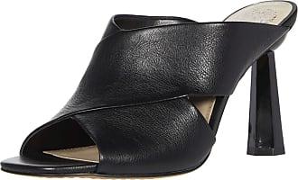 Vince Camuto Womens Averessa High Heel Sandal Mule, Black, 4.5 UK