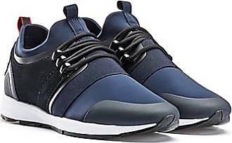 HUGO BOSS Sneakers aus Material-Mix mit Neopren-Einlage