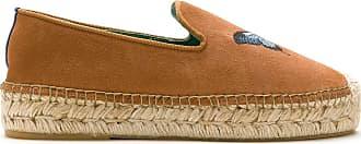 Blue Bird Shoes suede Butterfly espadrilles - Marrom