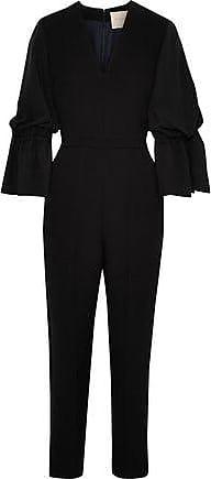 89432619f21f Roksanda Ilincic Roksanda Woman Margot Fluted Crepe Jumpsuit Black Size 8