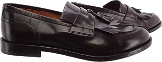 Doucal's Mens Loafers Polo Africa T Moro Leather Brown