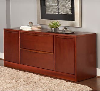Unique Furniture Prestige Sit-Stand Collection Storage Credenza Espresso - 3180506-ESP