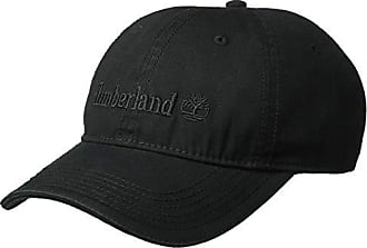 6d58c1a5a Timberland Mens Cotton Canvas Baseball Cap, Black, One Size