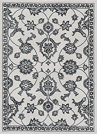 Well Woven KA-96-5 Kasper Stupendous Traditional Oriental Persian Light Grey Soft Area Rug 53 x 73, L.Grey