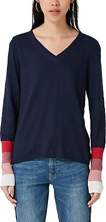 Q/S designed by Womens 41.909.61.2594 Jumper, Blue (Dark Blue 5876), 10 (Size: Small)