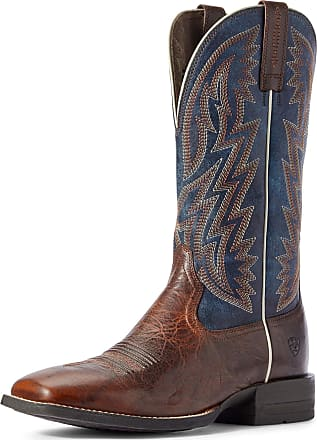 Ariat Mens Dynamic Western Boots in Brown Patina Leather, D Medium Width, Size 10.5, by Ariat