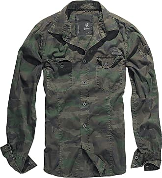 Brandit men slim mens shirt B-4005 - Multicolour - XXXX-Large