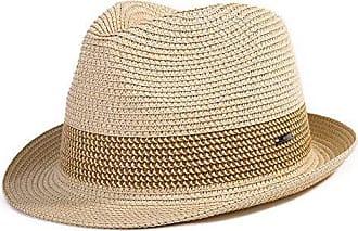 9240f1a4471cb Siggi Strohhut Panamahut Sonnenhut Fedora Hut Handgemacht Herren beige L  SIGGI