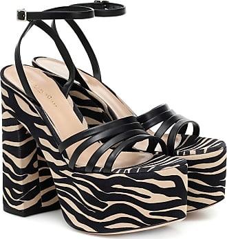 Gianvito Rossi Ursula 150 leather platform sandals