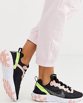 Nike Regrind React Element 55 - Sneakers nere e rosa-Nero
