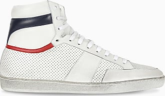 Saint Laurent Sneaker alte Court bianca