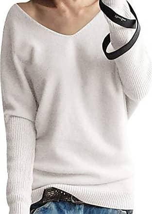 enger pullover mit v ausschnitt