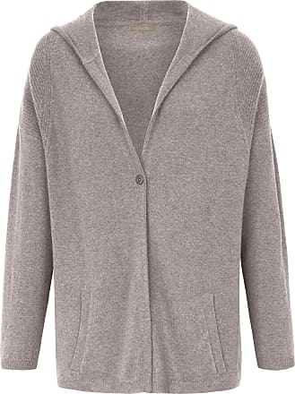 include Cardigan hood in Pure cashmere in premium qua include beige
