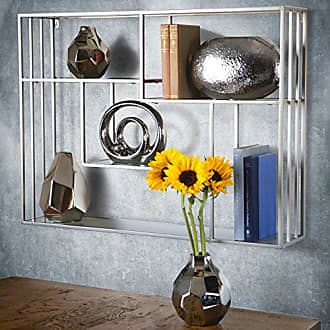 Urban Trends Collection Urban Trends Ceramic Irregular Bellied Rectangular Mouthe, Patterned Design Body and Tapered Bottom SM Polished Chrome Finish Silver Vase