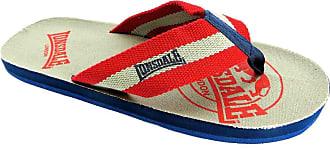 Lonsdale Mens Boys Textile Flip Flop Toe Post Flat Pool Beach Summer Sandal Shoe Size 6-12