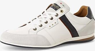 Pantofola D'oro Herren Sneaker aus Leder weiss
