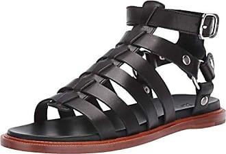Frye Womens Andora Gladiator Flat Sandal, black, 5.5 M US