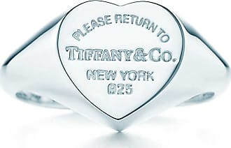 Tiffany & Co. Return to Tiffany Herz-Siegelring in Sterlingsilber, Small - Size 4 1/2