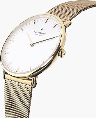 Nordgreen Native - Gold | Mesh - 36mm / Gold