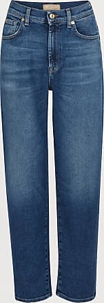 7 For All Mankind Malia high-waisted cropped straight jeans