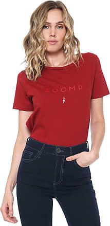Zoomp Camiseta ZOOMP Logo Vermelha