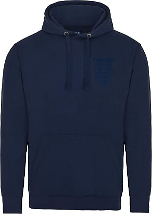 Oxford University Pocket Shield Hoodie - Navy - L