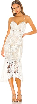 X by NBD Tove Midi Dress in White