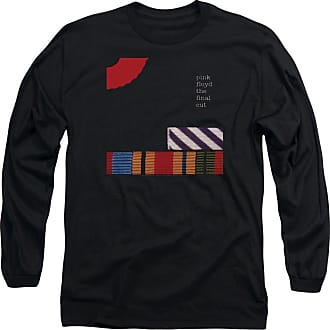 Popfunk Pink Floyd The Final Cut Unisex Adult Long-Sleeve T Shirt for Men and Women Black