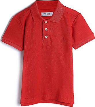 Reserva Mini Camisa Polo Reserva Mini Infantil Lisa Vermelho