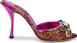 Dolce & Gabbana Mule Keira jacquard - Rosa