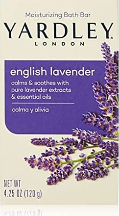 Yardley London English Lavender Soap with Essential Oils 4.25 Oz (Pack of 8)