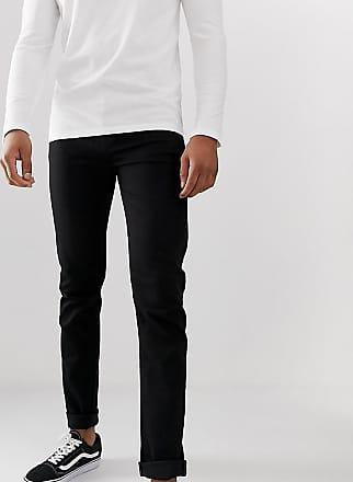 ASOS TALL - Giacca della tuta pesante con motivo Fair Isle nera - Nero asos neri Jeans