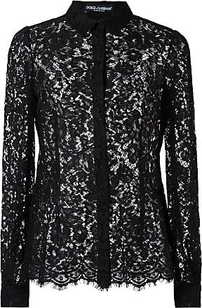 Dolce & Gabbana Camisa de renda - Preto