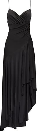 Alexandre Vauthier Draped Low-back Asymmetric Jersey Dress - Womens - Black