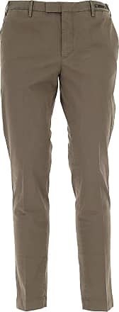 PT01 Pants for Men On Sale in Outlet, Brown Earth, Cotton, 2017, 34