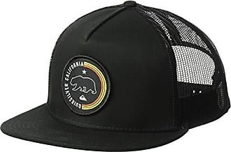 Quiksilver Mens Bear Scratcher Trucker HAT, Black, 1SZ