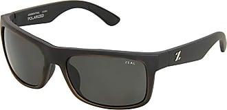 Zeal Optics Essential Polarized (Matte Black w / Dark Grey Polarized Lens) Sport Sunglasses