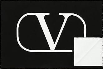 Valentino Valentino Uomo Vlogo Scarf Man Black OneSize