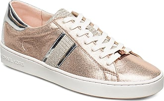Michael Kors Keaton Stripe Sneaker Låga Sneakers Rosa Michael Kors Shoes