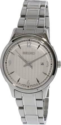 Seiko Womens SXDG93 Silver Stainless-Steel Japanese Quartz Fashion Watch