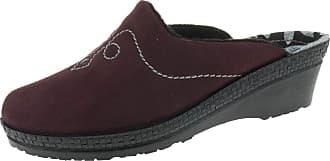 Rohde 246149 Womens Mules Size F 1/2 Aubergine Purple Size: 8.5 UK