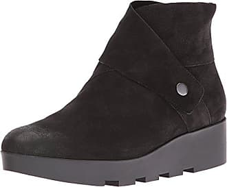 Eileen Fisher Womens Tread Ankle Boot, Black, 5.5 M US