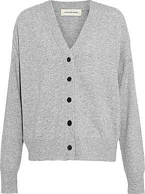 By Malene Birger By Malene Birger Woman Wool And Cashmere-blend Cardigan Gray Size XL