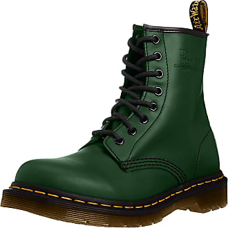 Dr. Martens 1460 Smooth 59 Last, Womens Boots, Green (Green), 3 UK (36 EU)