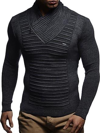 Leif Nelson Men Cardigan Jacket Shawl Collar LN-5465